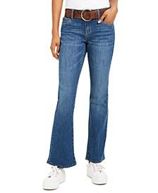 Juniors' Stretch Bootcut Jeans