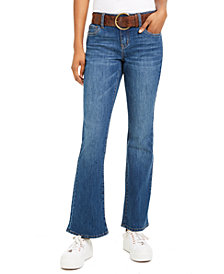 Dollhouse Juniors' Stretch Bootcut Jeans