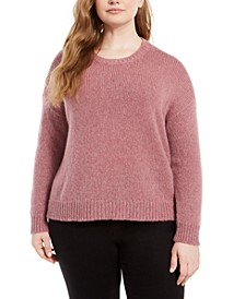 Plus Size Crewneck Sweater