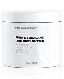 Shea and Squalane Rich Body Butter
