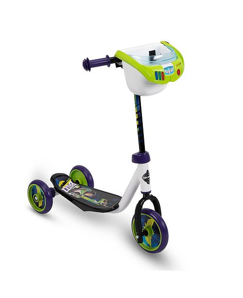Huffy Toy Story Wheel Scooter with Bin