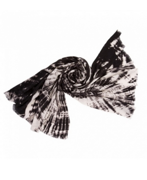 Tie Dye Scarf with Fringes
