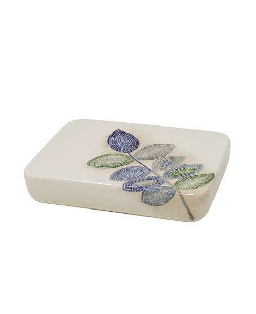 Croscill Mosaic Leaves Spa Soap Dish