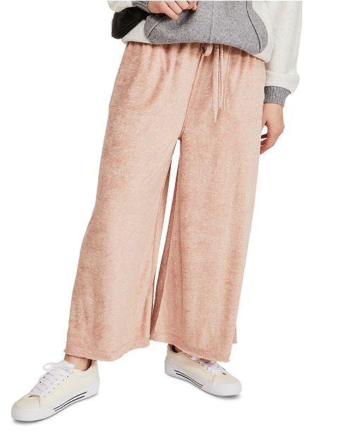 Free People Make It Maxi Wide Leg Pants Reviews Pants Leggings Women Macy S