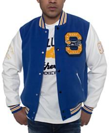 Sean John Men's Colorblocked Varsity Jacket