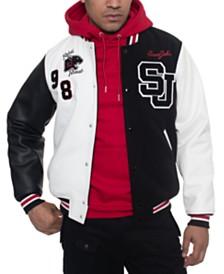 Sean John Men's Varsity Baseball Jacket