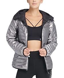 Sport Reversible Packable Hooded Jacket
