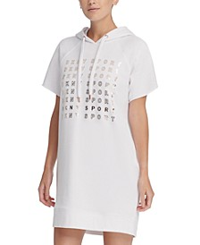 Sport Metallic-Logo Sneaker Dress