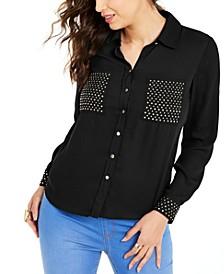 Studded Shirt, Created for Macy's