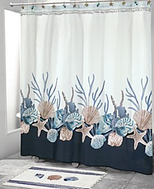Blue Lagoon Shower Curtain Collection