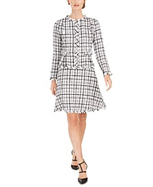 Tweed A-Line Jacket Dress
