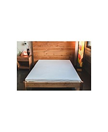 Natural Wool Latex Shikibuton Mattress, Queen