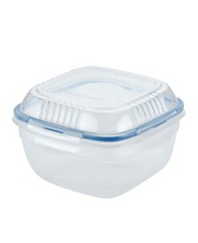Lock n Lock Easy Essentials™ 32-Oz. On the Go Meals Salad Bowl with Tray