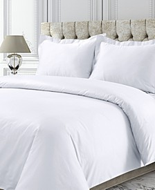 750 Thread Count Sateen Oversized Solid King Duvet Cover Set
