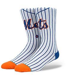 New York Mets Home Jersey Series Crew Socks