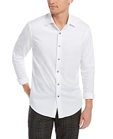 Men's Supima Cotton Birdseye-Knit Shirt, Created for Macy's