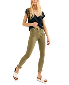 Raw High Rise Jegging Jeans