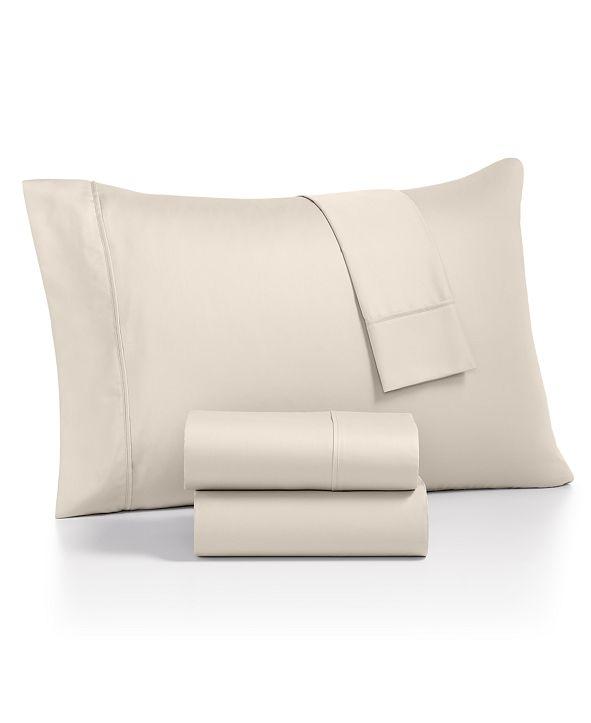 AQ Textiles Monroe 4-Pc. Queen Sheet Sets, 1000 Thread Count Egyptian Blend
