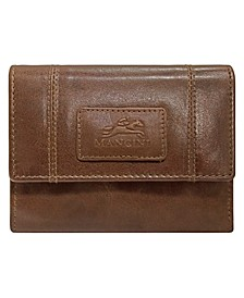 Casablanca Collection RFID Secure Ladies Small Clutch Wallet