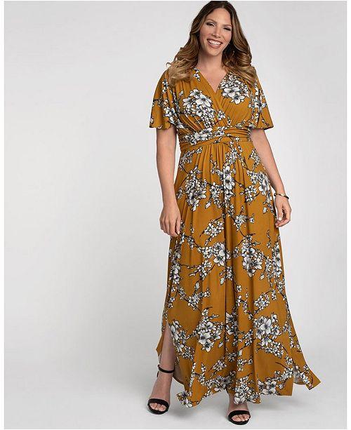 Women\'s Plus Size Vienna Maxi Dress