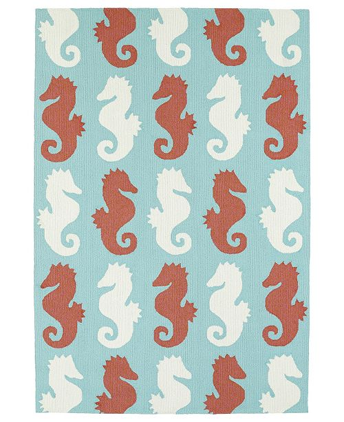 "Kaleen Sea Isle SEA03-86 Multi 5' x 7'6"" Area Rug"