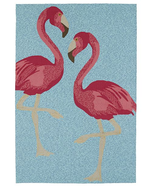Kaleen Sea Isle SEA04-17 Blue 9' x 12' Area Rug