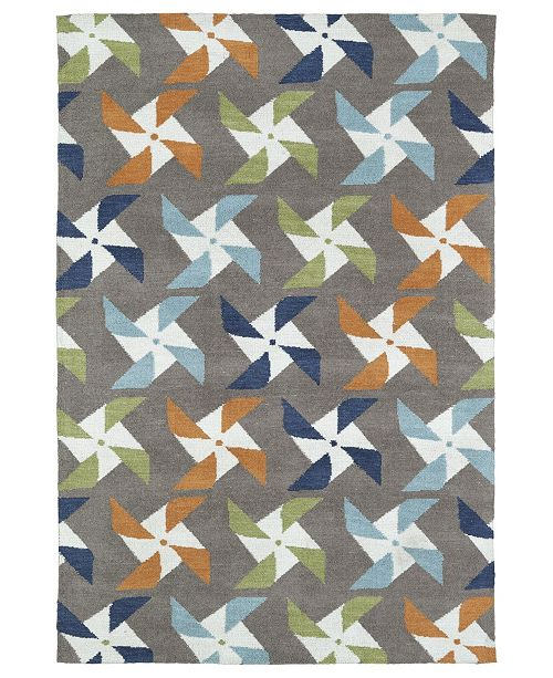 Kaleen Lily Liam LAL06-27 Taupe 5' x 7' Area Rug