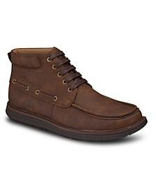 Men's Moc-Toe Fashion Chukka Boots