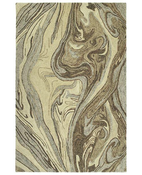 "Kaleen Marble MBL02-29 Sand 3'6"" x 5'6"" Area Rug"