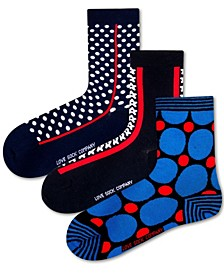 Pack Women's Socks Bundle with Polka Dots and Stars by
