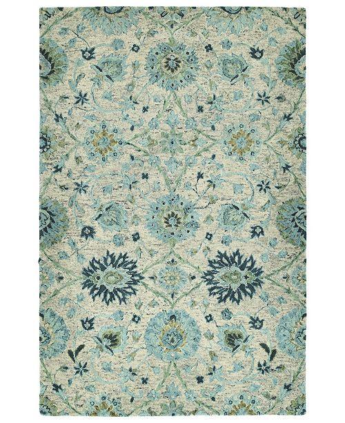 Kaleen Chancellor CHA03-78 Turquoise 8' x 10' Area Rug