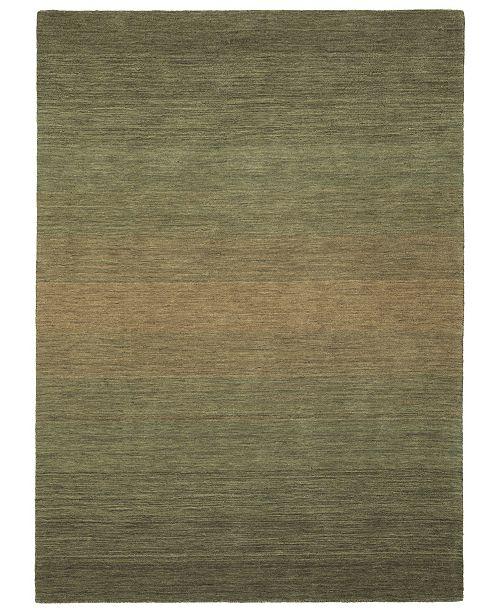 Kaleen Shades SHD01-50 Green 8' x 10' Area Rug
