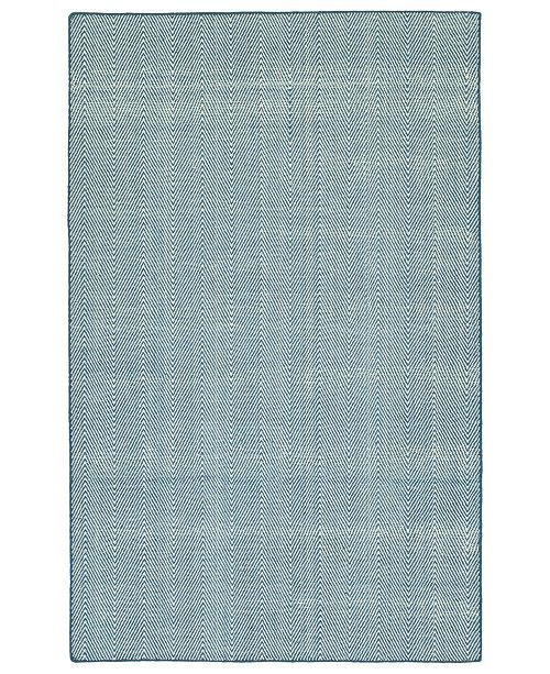 Kaleen Ziggy ZIG01-10 Denim 2' x 3' Area Rug
