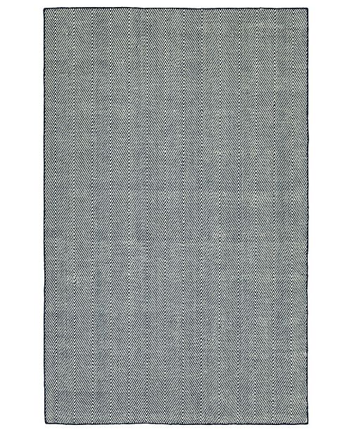 Kaleen Ziggy ZIG01-22 Navy 8' x 10' Area Rug