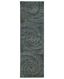 Ceneri CEN06-86 Multi 2'6 x 8' Runner Rug