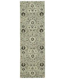 "Amaranta AMA02-88 Mint 2'6"" x 8' Runner Rug"