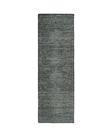 "Palladian PDN02-38 Charcoal 2'6"" x 8' Runner Rug"