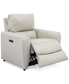 Danvors Leather Power Recliner
