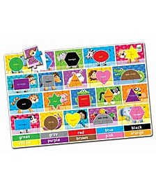 Jumbo Floor Puzzles- Colors and Shapes