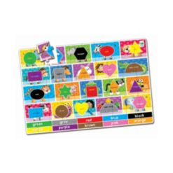 The Learning Journey Jumbo Floor Puzzles- Colors and Shapes