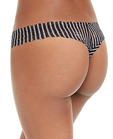 Pixie Printed Lowrider Lace Thong Underwear PIXIP0321