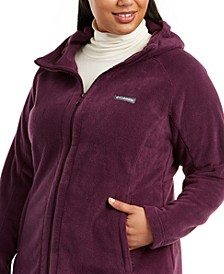 Plus Size Benton Springs Hooded Fleece Jacket