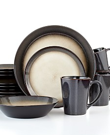 Pfaltzgraff Everyday Aria Grey 16-Pc. Set, Service for 4