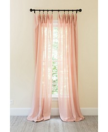 Classic Linen Rod Pocket Curtain Collection