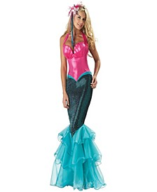 BuySeason Women's Mermaid Elite Collection Costume