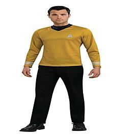 Men's Star Trek Movie Gold Tone Shirt Costume