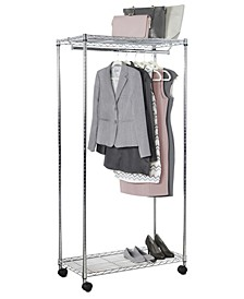Home Solution Supreme Rolling Garment Rack