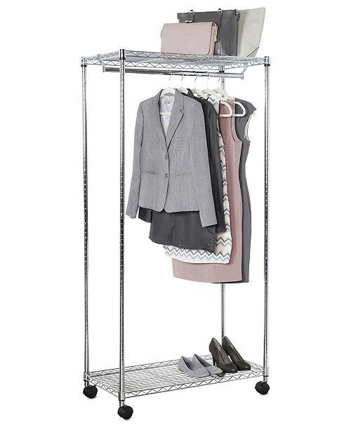 Solution Supreme Rolling Garment Rack