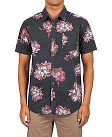 Men's Conner Flyer Floral-Print Shirt