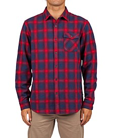 Men's Juanico Yarn-Dyed Plaid Flannel Shirt